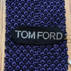 Tom Ford Woven Silk Trunk Tie NWT